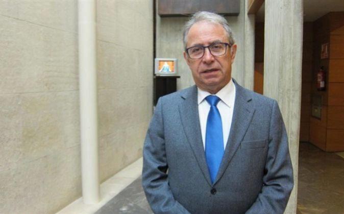 Fernando Gimeno, consejero de Hacienda y Administración Pública del...