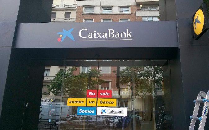 Sucursal CaixaBank.