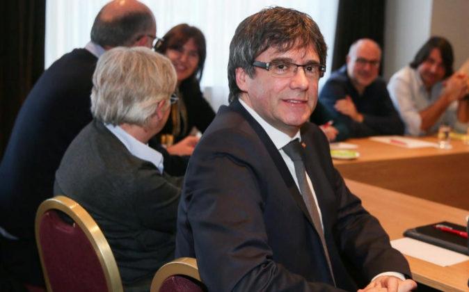 El expresidente de la Generalitat Carles Puigdemont.
