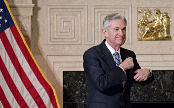 Jerome Powell, presidente de la Reserva Federal de Estados Unidos.