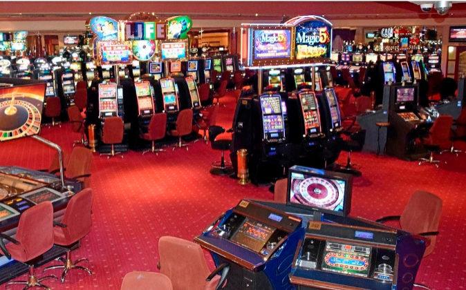 En la imagen, sala de juego de la empresa de casino y bingos Cirsa.