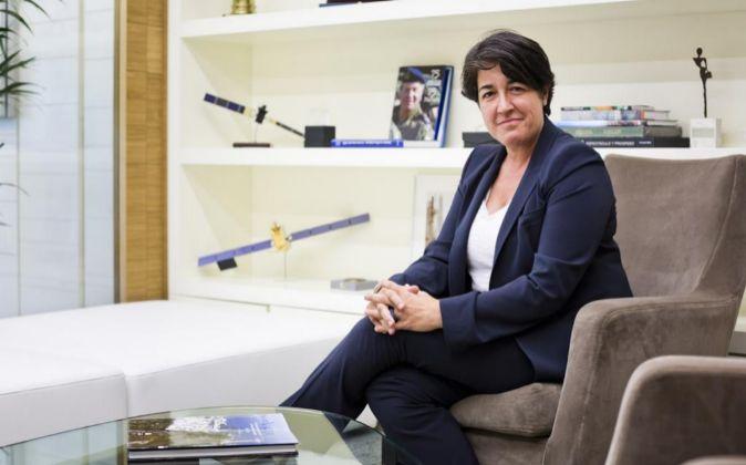 Elena Pisonero, presidenta de Hispasat.