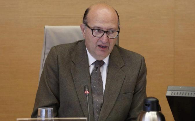 El presidente del Tribunal de Cuentas, Ramón Álvarez de Miranda,...