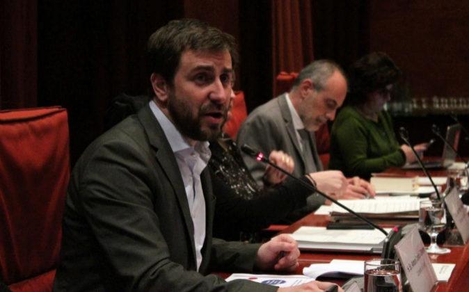 El exconseller de Salud y actual diputado de ERC Antoni Comín.