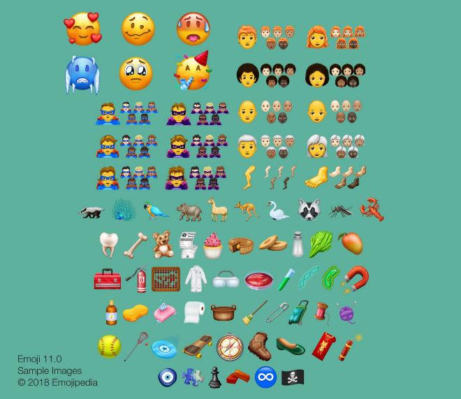 Simulación elaborada por Emojipedia.