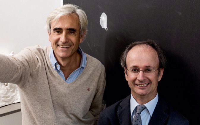 Benjamín Cano y Diego Escario  son fundadores de un estudio que...