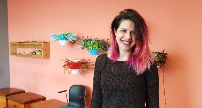 Parisa Tabriz, 'princesa de seguridad' de Google. Fue...