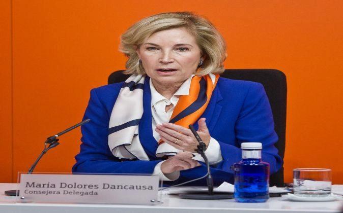 Resultados anuales de Bankinter, en la imagen, María Dolores...