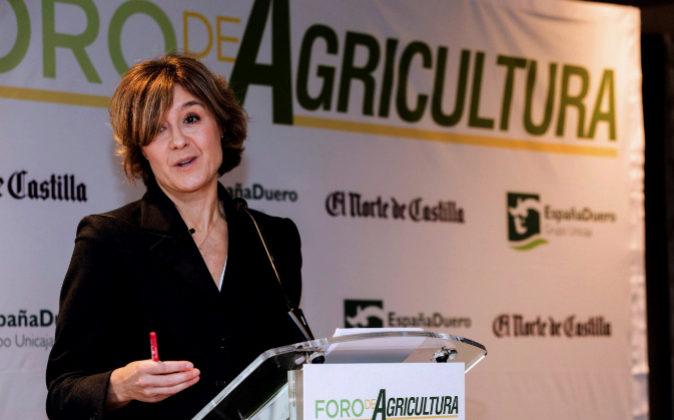 La ministra de Agricultura, Isabel García Tejerina.