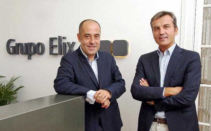 Jorge Benjumeda y Jaime Lacasa, fundadores de la inmobiliaria Elix.