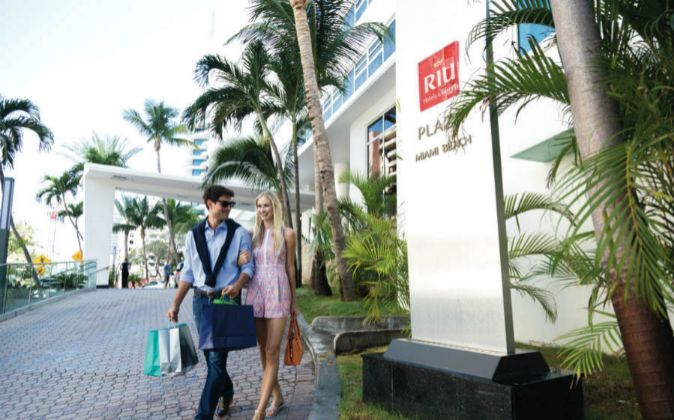 Hotel RIU en Miami.