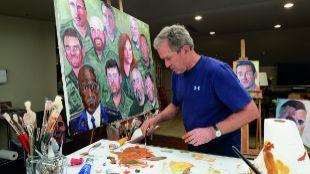 George Bush, un aprendiz de Rembrandt en la Casa Blanca