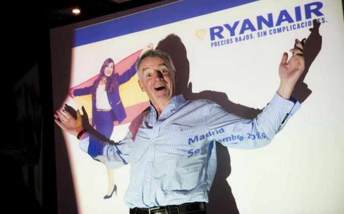 Michael O?Leary, CEO de Ryanair.