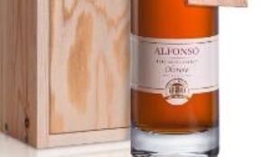 Botella Alfonso 1/6, partida limitada a 965 botellas de 50 cl.