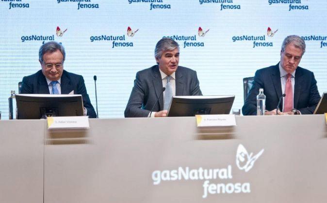 Presentación de los resultados de 2017 de Gas Natural Fenosa, con...