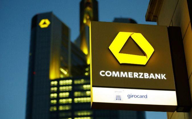 Logode Commerzbank.