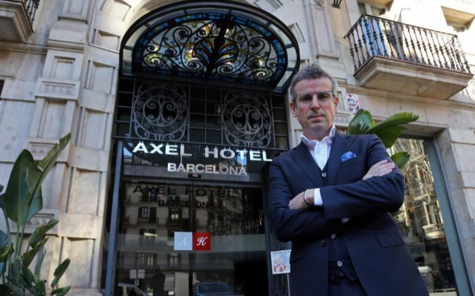 Albert Olivé, director general de Axel Hotels.
