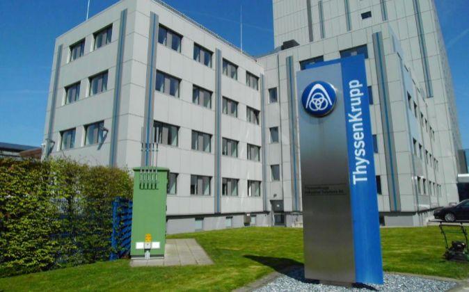 Oficinas de ThyssenKrupp en Beckum (Alemania).