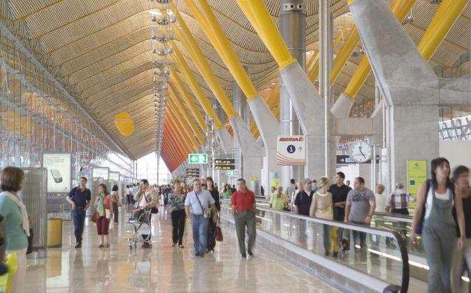 Aeropuerto Adolfo Suarez Madrid-Barajas.