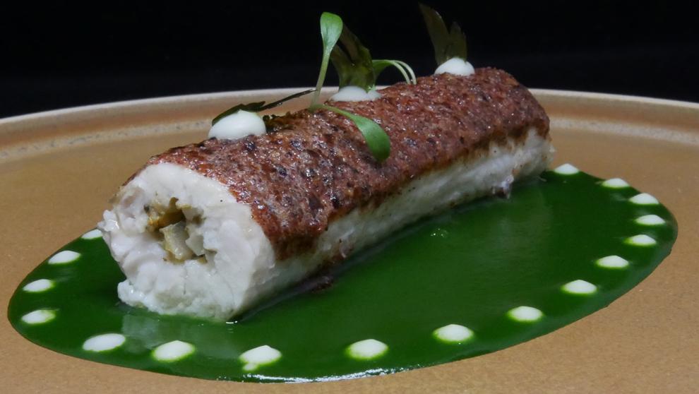 Uno de los platos estrella del chef libanés Alan Geaam.
