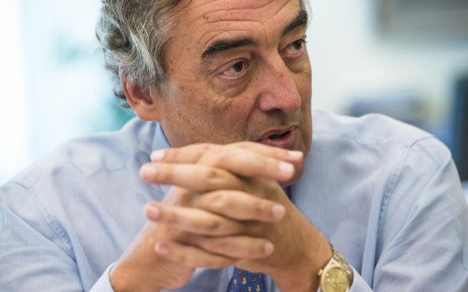 Juan Rosell, presidente de la CEOE.