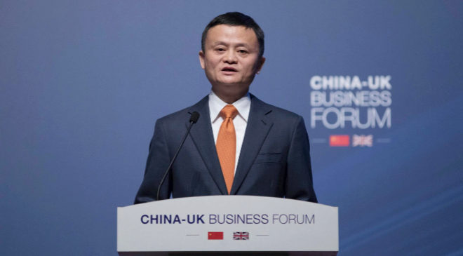 Jack Ma, presidente de Alibaba Group.