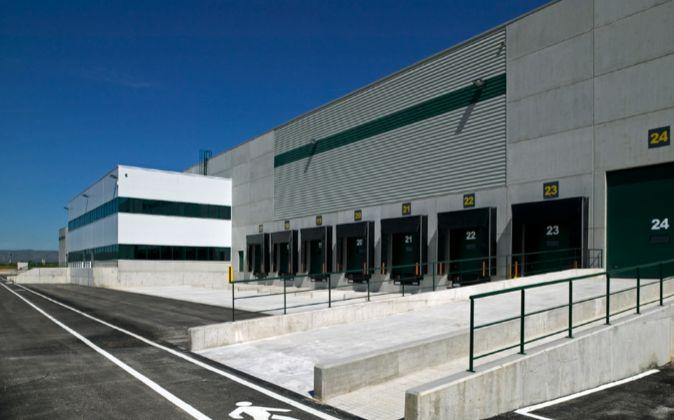 Nave logística adquirida en 2017 por P3 Logistic Parks, propiedad del...