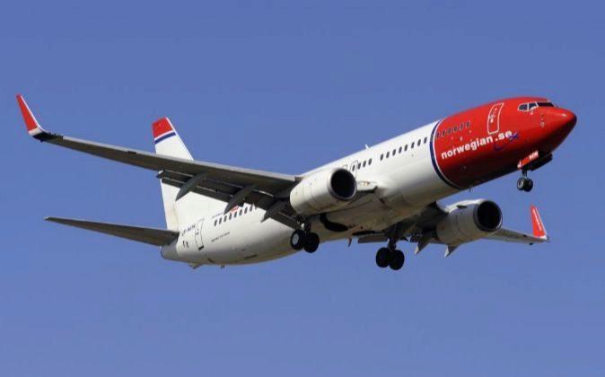 Airbus 787 Dreamliner de Norwegian.