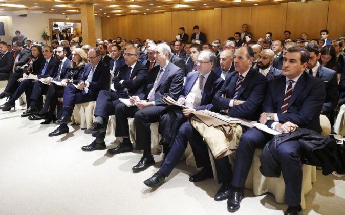Asistentes al encuentro 'Hacia un sector liberalizado en...