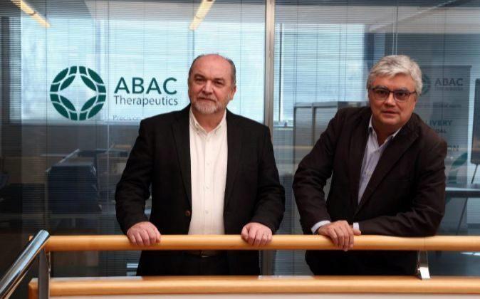 Domingo Gargallo-Viola y Albert Palomer, de Abac Therapeutics