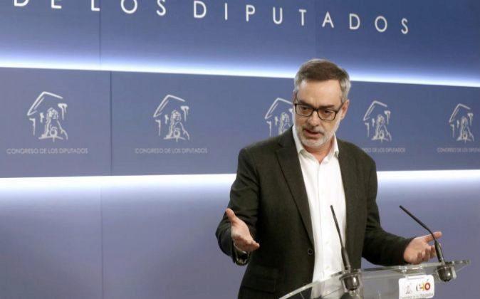 El secretario general de Ciudadanos, José Manuel Villegas, durante...