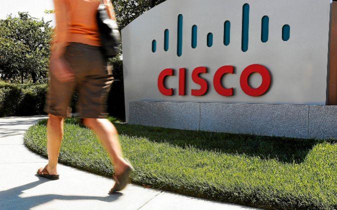 Logo de Cisco.