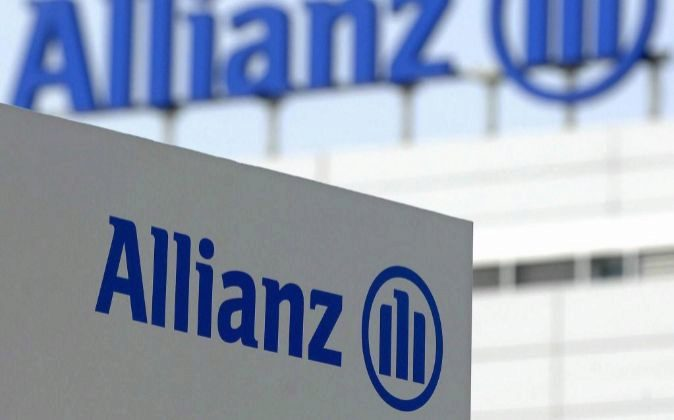 Logotipo de la aseguradora Allianz.