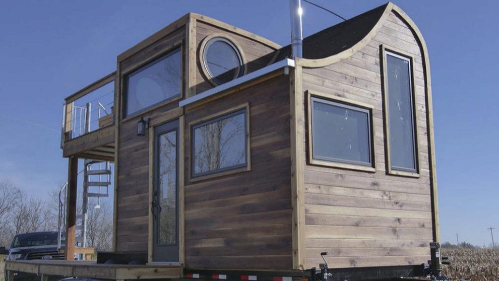La Honey On The Rock, una vivienda de 6,7 metros de largo, 2,6 metros...
