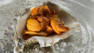 Apenas un toque de sal, pimienta, limón y vinagre de Jerez bastan...
