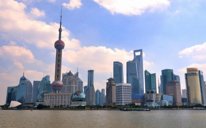 Imagen del distrito de Pudong, en Shanghai.