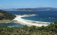 Islas Cíes en Galicia.