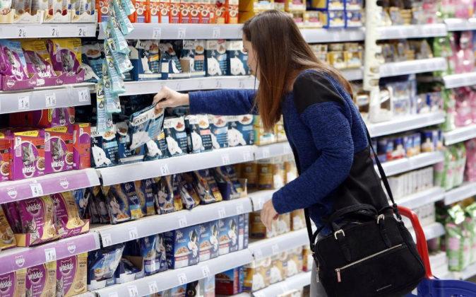 Supermercado Carrefour en Madrid.