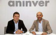Los dos socios fundadores de la consultora malagueña Aninver, Álvaro...