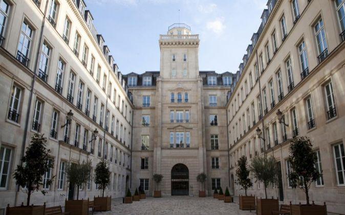 Sede de la Autoridad Europea de Valores y Mercados (ESMA) en París.