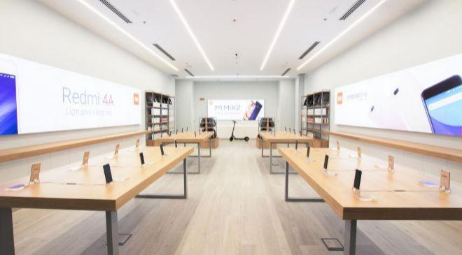 Tienda Xiaomi en el centro comercial Madrid Xanadú
