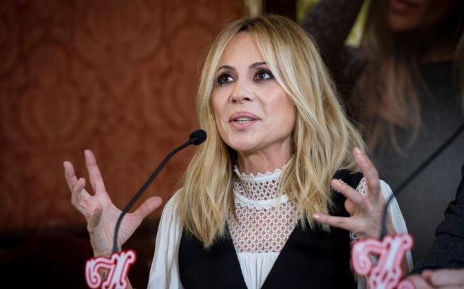 La cantante Marta Sánchez.
