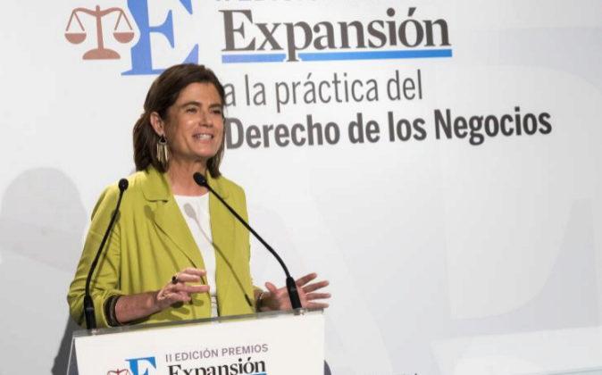 La secretaria de Estado de Justicia, Carmen Sánchez-Cortés,...