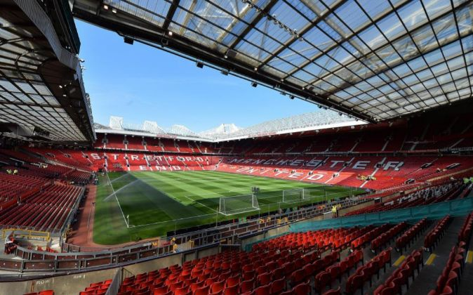 Estadio de Old Trafford.