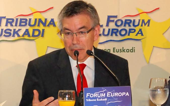 Agustín Markaide es el presidente del grupo vasco de distribución...