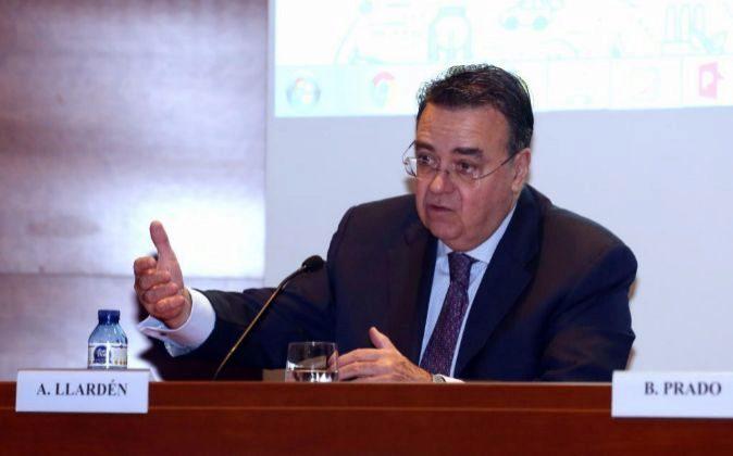 Antonio Llardén es el presidente de Enagás.