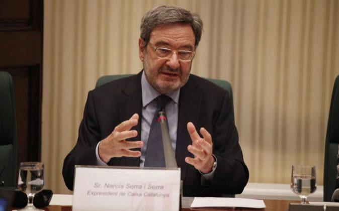 Narcís Serra, expresidente de Caixa Catanlunya.