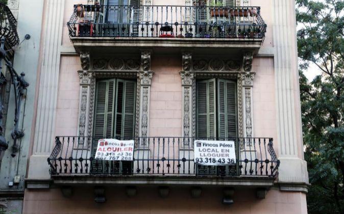 Piso en alquiler en Barcelona.