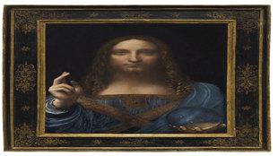 1. Salvator Mundi. Leonardo da Vinci.