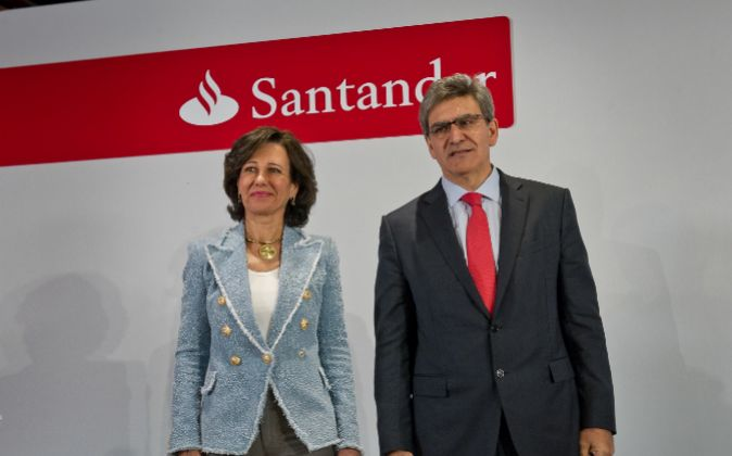 Ana Botín y José Antonio Álvarez, presidenta y consejero delegado...